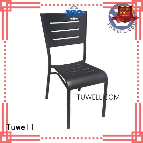 Hot bar aluminum bar stools side Tuwell Brand