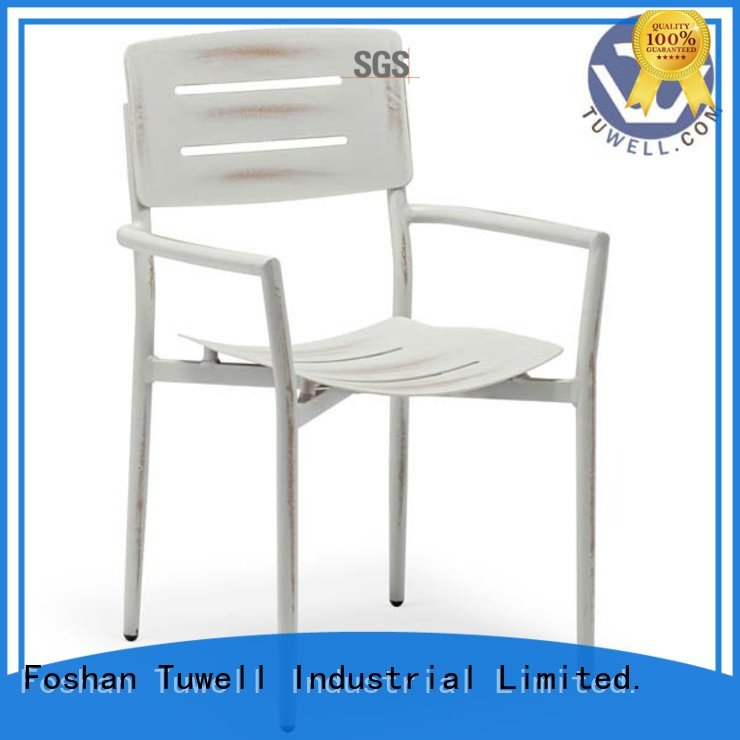 Tuwell Brand Outdoor chair custom aluminum bar stools