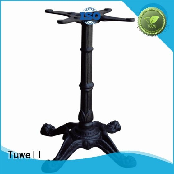 ODM iron cast iron dining table base Tuwell