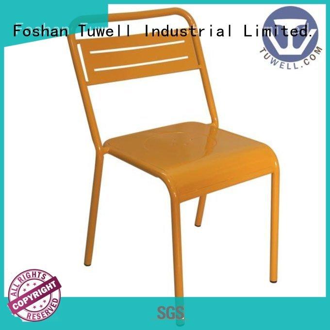 Quality Tuwell Brand steel folding chairs simon