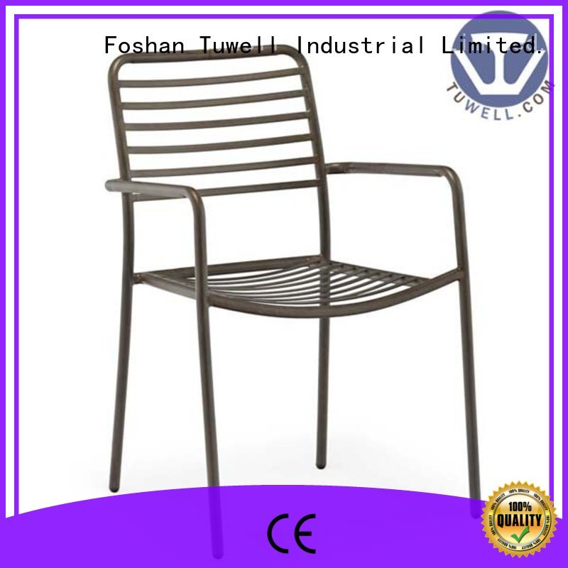 Tuwell Brand lucy wire black wire chair metal supplier