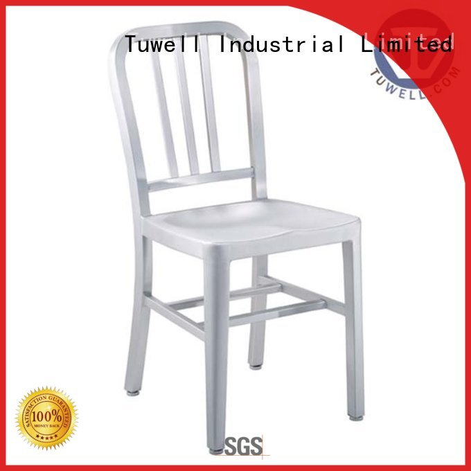 aluminum square stool slat navy dining chairs Tuwell