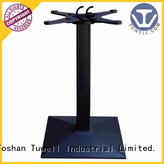 Tuwell Brand steel ODE cast table base Self-Sabilizing Mounting