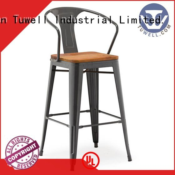 Outdoor ODM Tuwell outdoor tolix chairs