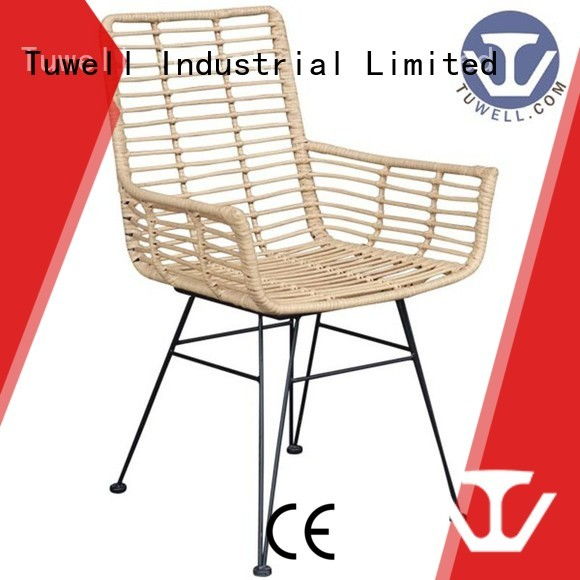 aluminum bar Rattan chair wholesale Tuwell Brand