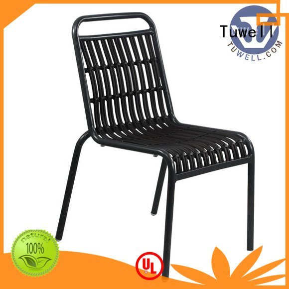 rattan chair for sale bar aluminum Tuwell Brand