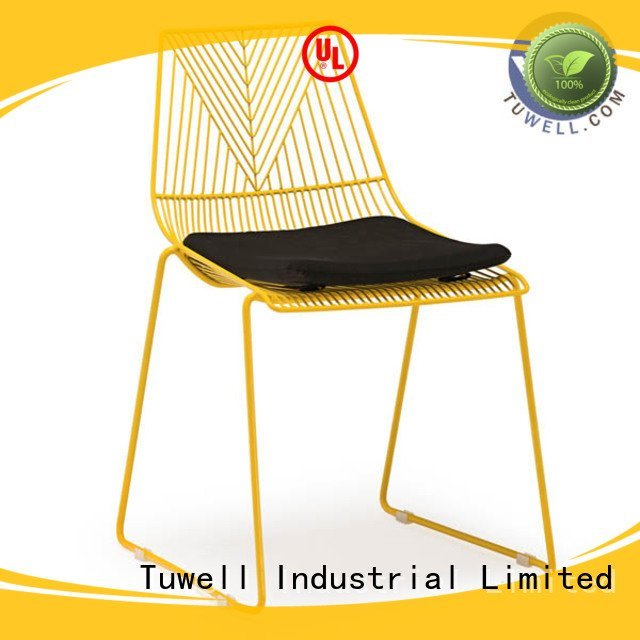 black wire chair metal lucy Tuwell Brand