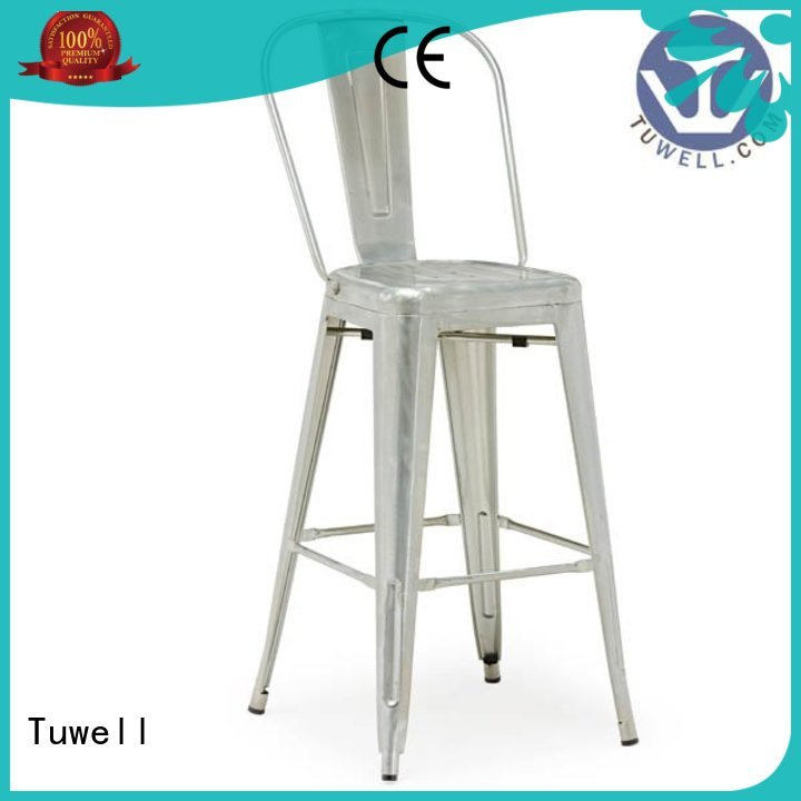Tuwell Brand Outdoor chair ODE outdoor tolix chairs manufacture