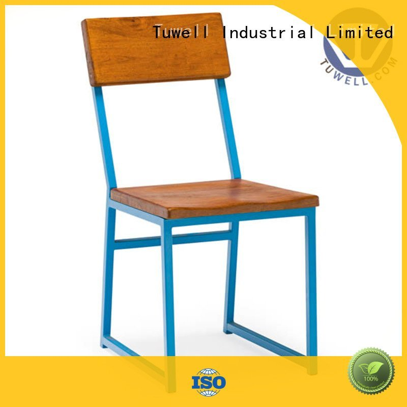 Tuwell Brand steel barstool chair stainless steel furniture