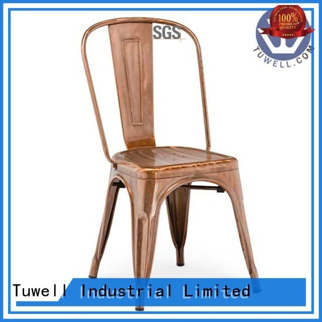 Tuwell Brand Mounting Suitable ODM outdoor tolix chairs