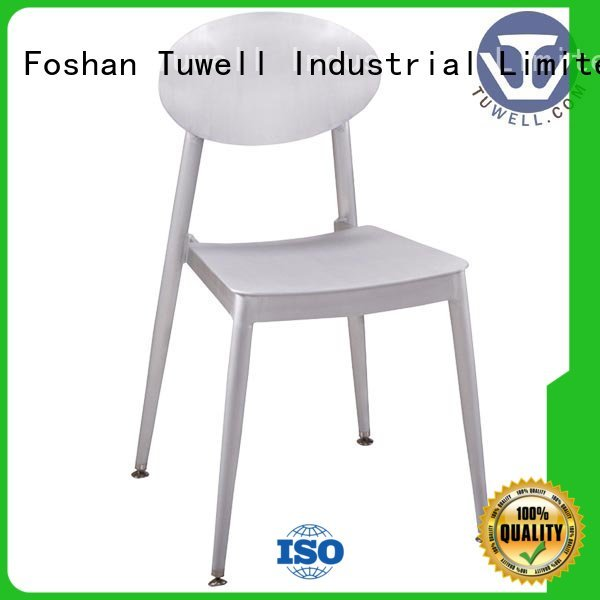 Tuwell Brand thonet Mounting ODM barchair aluminum chairs