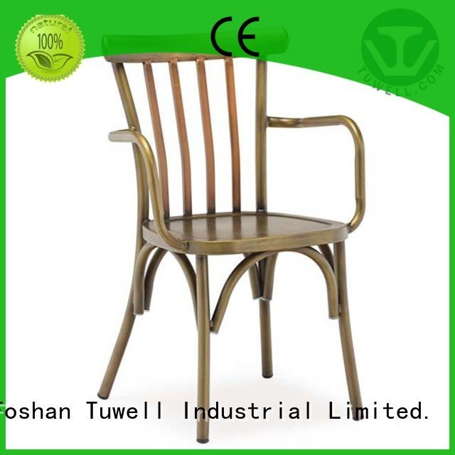 Tuwell Brand aluminum Suitable thonet aluminum chairs