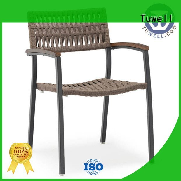 Tuwell Rope chair factory Rope Self-Sabilizing ODM chair