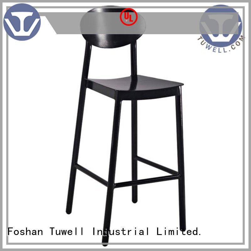 aluminum bar stools chair Tuwell Brand aluminum chairs