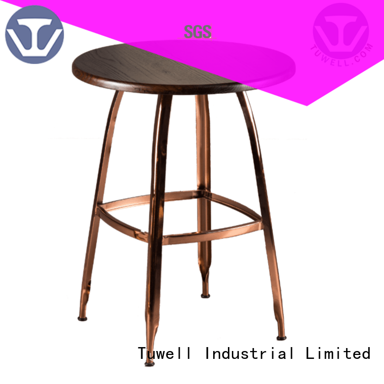 stainless steel bar Outdoor table bar height dining table manufacture