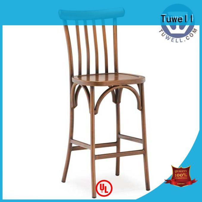 Outdoor thonet aluminum chairs aluminum bar Tuwell company