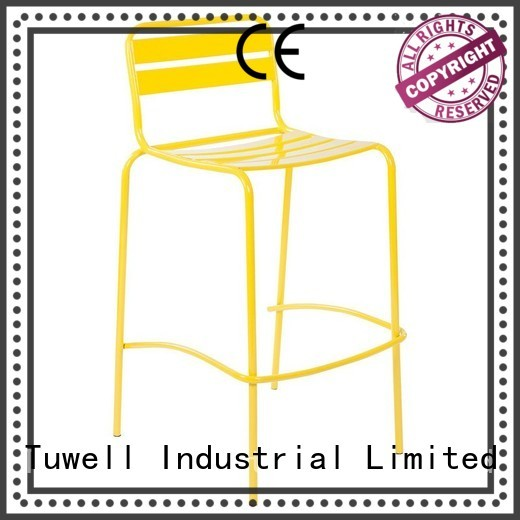 steel folding chairs design Self-Sabilizing Tuwell Brand company