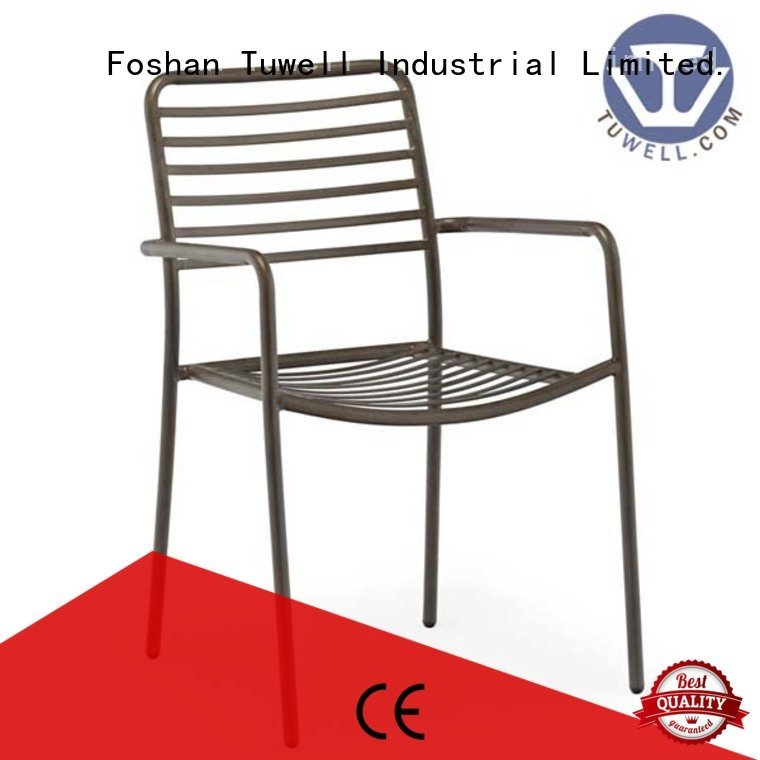metal steel wire chair chair Tuwell