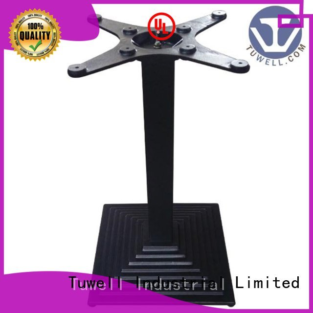 Custom stainless ODM cast table base Tuwell Outdoor