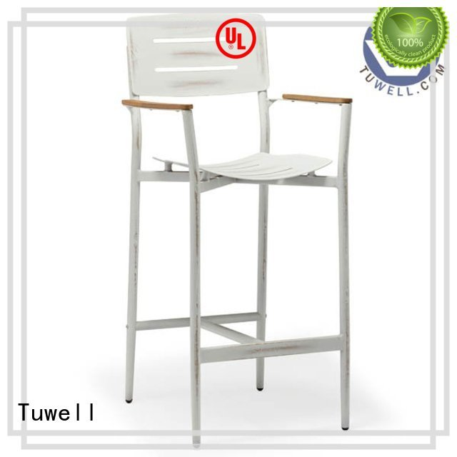 Hot bar aluminum bar stools design Tuwell Brand