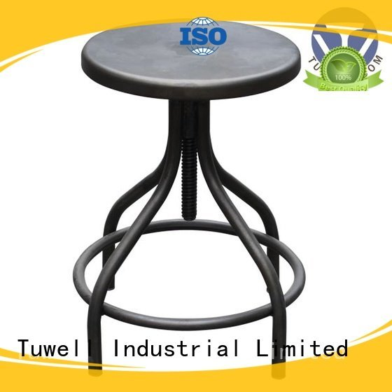 Outdoor barstool Tuwell steel folding chairs
