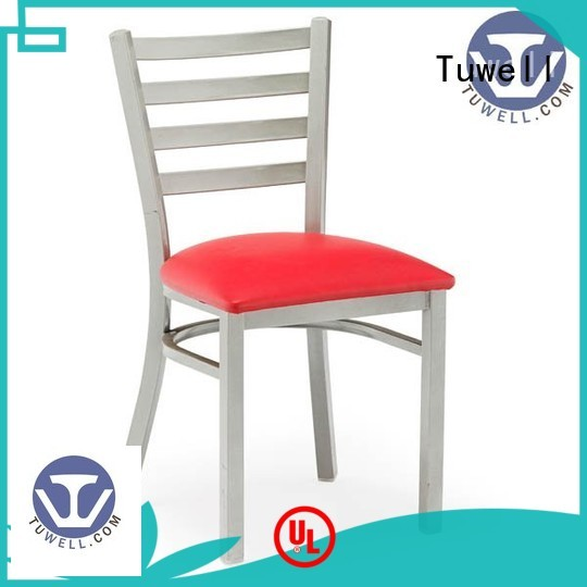 Tuwell Brand Self-Sabilizing aluminum bar stools ODE supplier