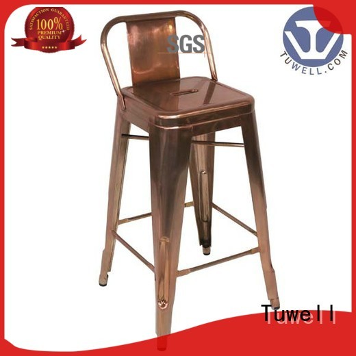 Tuwell Brand steel chair outdoor tolix chairs manufacture