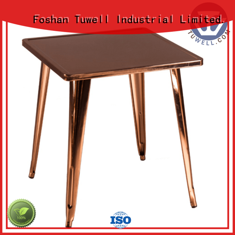 steel bar ODM Tuwell Brand bar height dining table
