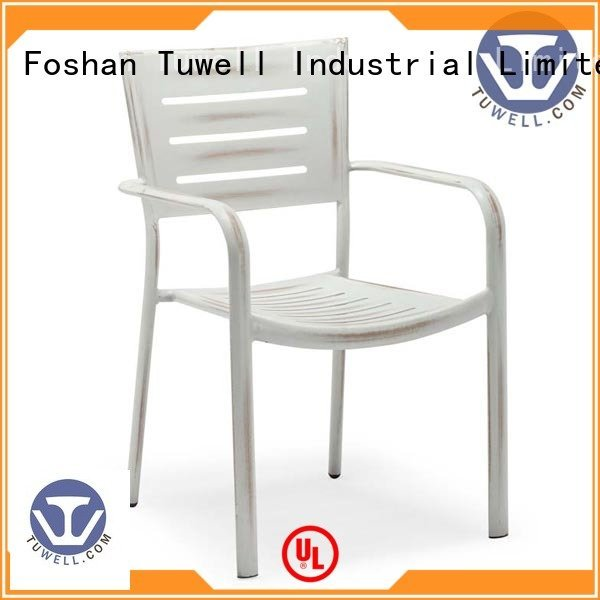 Mounting ODE aluminum chairs Tuwell Brand