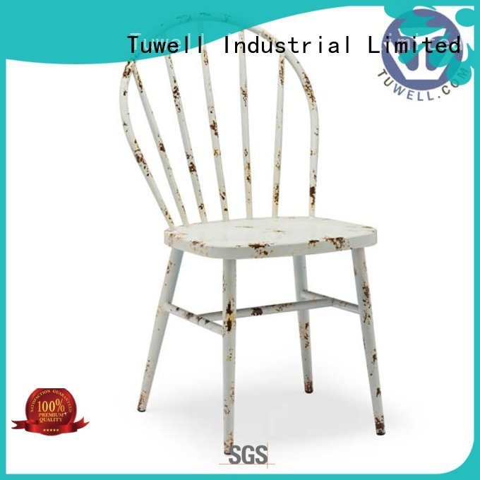 steel folding chairs design stainless steel furniture Tuwell Brand