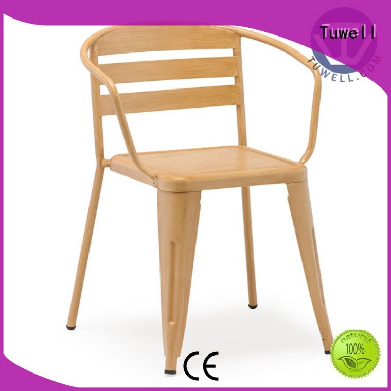 steel folding chairs ODM stainless steel furniture Tuwell Brand