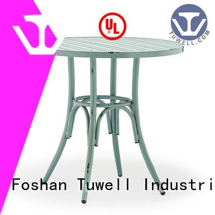 steel Mounting Tuwell bar height dining table
