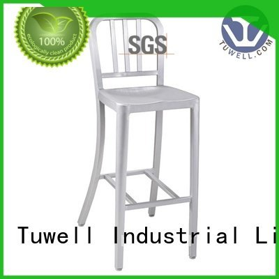 Tuwell Brand side emeco navy dining chairs