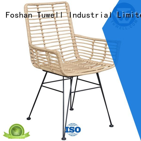 Wholesale ODM Self-Sabilizing Rattan chair Tuwell Brand