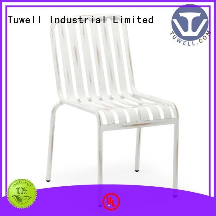 Quality Tuwell Brand steel aluminum chairs