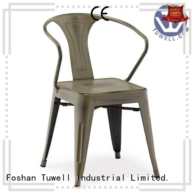Quality Tuwell Brand Self-Sabilizing ODE outdoor tolix chairs