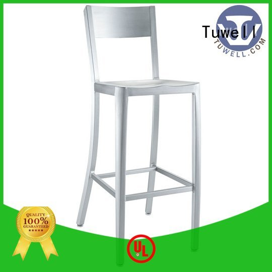 Tuwell vertical seat navy blue dining chairs
