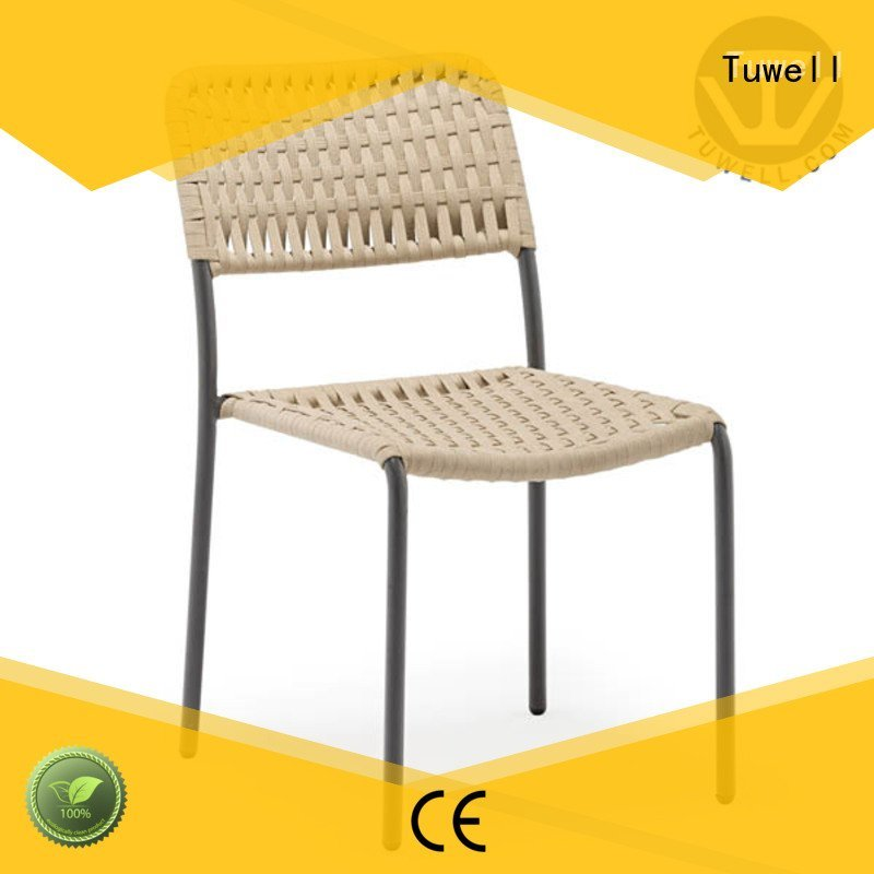Hot Rope chair factory design Rope chair factory Suitable Tuwell