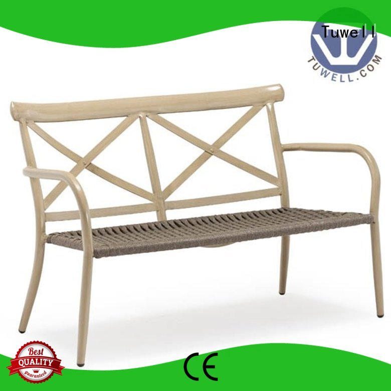 Tuwell Brand aluminum ODM Rope Rope chair manufacture