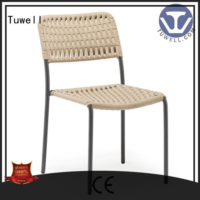windsor aluminum Rope chair factory chair Tuwell