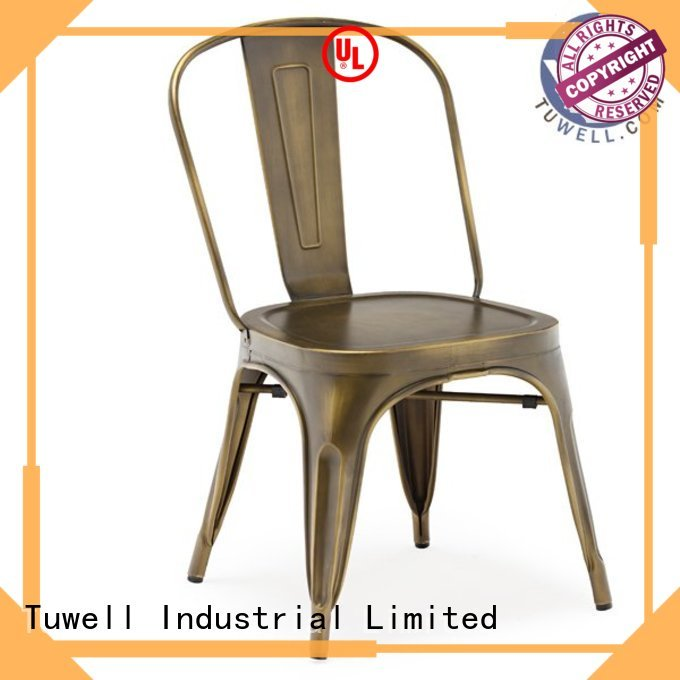 Tuwell Brand steel Suitable ODE outdoor tolix chairs manufacture