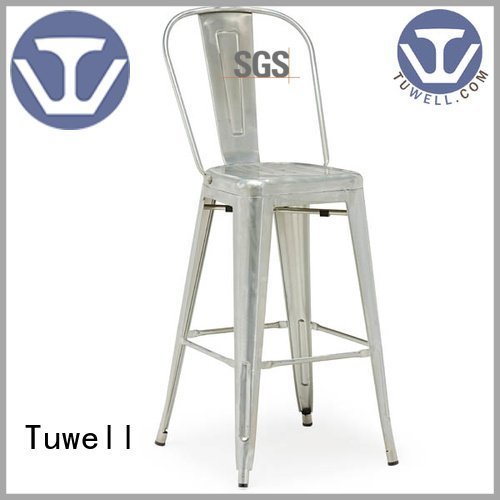 Tuwell design Outdoor outdoor tolix chairs chair Self-Sabilizing