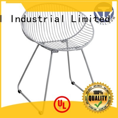 Custom wire metal wire chair Tuwell bar