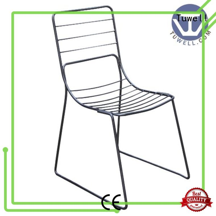 metal steel wire OEM wire chair Tuwell