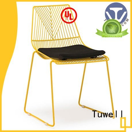 metal chair Tuwell wire chair