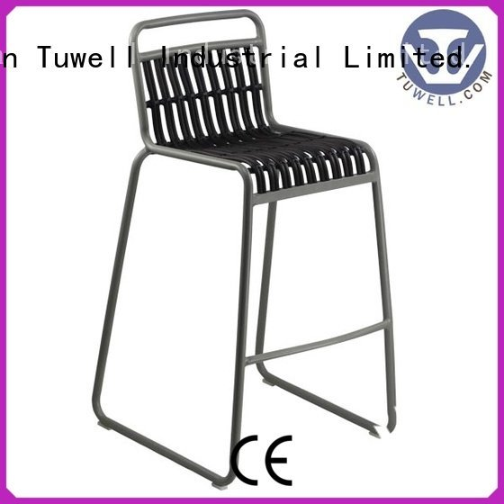 design Suitable Outdoor aluminum Tuwell Rattan chair