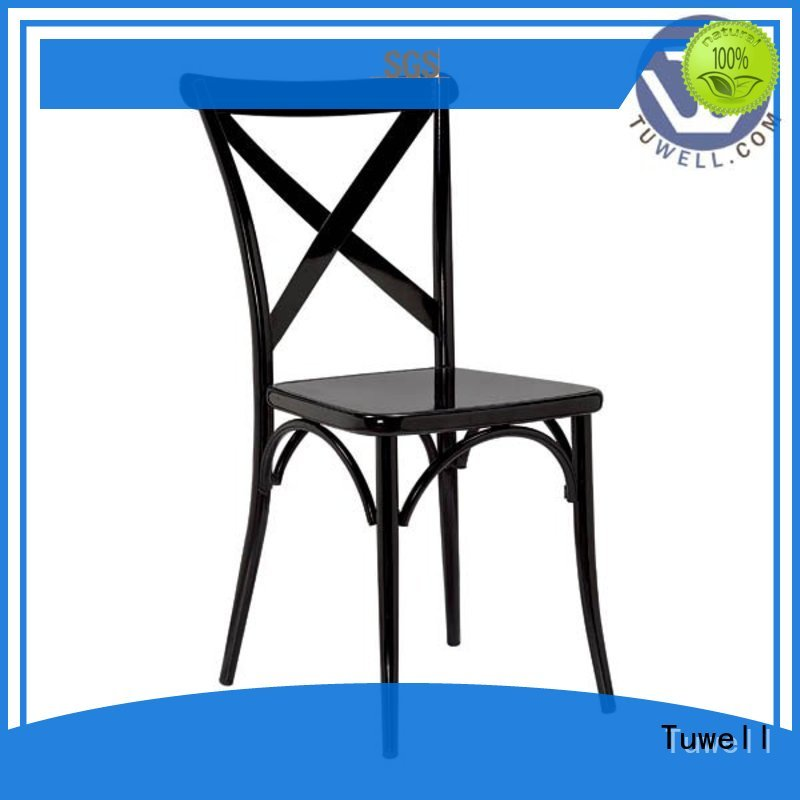 cross back chairs wholesale metal design cross back chairs Tuwell Brand